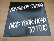 "Kings Of Swing – Nod Your Head To This (Remix) Vinyl 12"" UK 1990 Hip Hop VUST30"