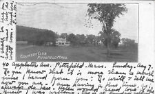 Country Club, Pittsfield MA handsome vintage postcard used 1904
