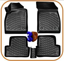 Trimak Auto Fussmatten kompatibel mit  OPEL ASTRA G & H (1998-2010) Gummimatten