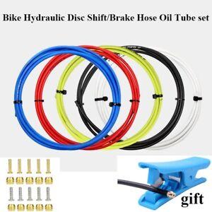 Bike BH59 BH90 5MM Hydraulic Disc Brake Oil Hose Tube Set insert & olive Head Co