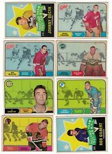 1968-69 OPC NHL Hockey Lot - Pick the cards you need - $4.50 each card