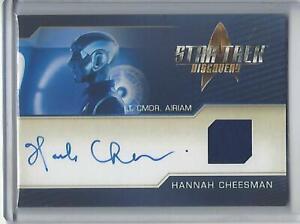 Star Trek Discovery Season 2 Hannah Cheesman Autograph Costume Relic