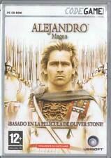 Alejandro Magno. PC CD ROM Codegame. 2 CDs + Manual de Usuario + Poster/Mapa