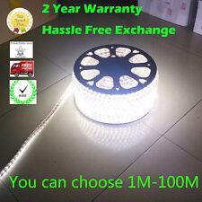 Cool White 120v 110v  SMD5050 Flexible Under Counter String LED strip rope Light