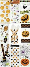 20 Halloween Party Loot Cello Gift Sweet Cellophane Bag Pumpkin Spooky Treat Fun