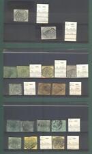 Antichi stati. STATO PONTIFICIO. Piccolo insieme di francobolli usati...
