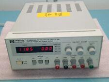Hp E3630a 0 6v 25a0 20v 05a Triple Output Dc Power Supply