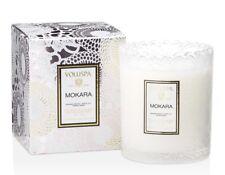 Voluspa MOKARA Glass Scalloped Edge Candle ~ 6.2 oz