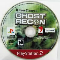 Tom Clancy's Ghost Recon Sony PlayStation 2 2002 PS2 Disc Only