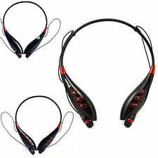 Universal Handsfree Stereo Bluetooth Wireless Headset Headphones With Call Mic