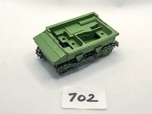 RARE DINKY TOYS # 162A LIGHT DRAGON TRACTOR ARMY MILITARY DIECAST MODEL PLAYWORN