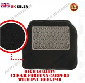 CARPET FLOOR MATS FRONT TAILORED WITH LOGO 2018 - 2020 FOR FORD TRANSIT  CUSTOM