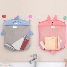 Kids/Baby Time Bath Toy Tidy Storage Suction Bag Cup Bathroom Mesh Organiser Net