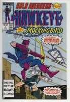 Solo Avengers #1 NM- Hawkeye & Mockingbird Jim Lee Art (Marvel Comics 1987)