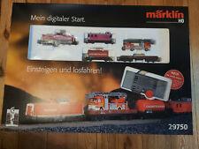 Märklin H0 29750 Digital Starterset Güterzug Feuerwehr  OVP NEU