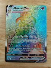 Alcremie Vmax 073/072 Shining Fates - Nm Full Art Rainbow Rare Pokemon Card