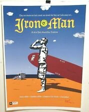 SOUTHBAY CALIFORNIA IRON MAN TRIATHLON SIGNED LIMITED EDITION SILKSCREEN POSTER