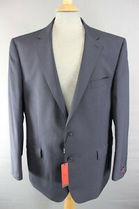 NEW WITH TAGS PIERRE CARDIN PURE WOOL NAVY BLUE PINSTRIPED JACKET 38 - 50 INCH