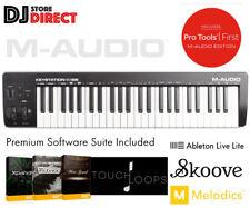 NEW M-AUDIO KEYSTATION 49 MK3 USB MIDI Keyboard PAD Controller Software Ableton