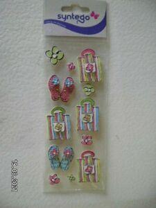Pack of Syntego Handbag and Sandal 3D Embellishments  (B198)