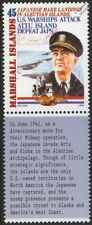 WWII 1942 Japan Invades Aleutian Islands & US Admiral Thomas C.Kincaid Stamp
