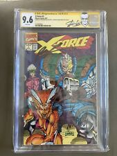 CGC SS X-Force #1 Signed 3X! Stan Lee, Liefeld, And Fabian! Stan Label.
