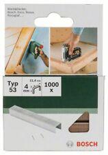 Bosch Tacker Klammern Typ 53, Breite 11,4 mm - 1000Stück Länge wählbar