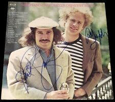 Rare! Simon & Garfunkel's Greatest Hits Album Cover Signed by Paul Simon & Art
