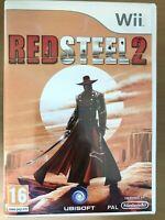 Red Steel 2 for Nintendo Wii Violent Action Game Videogame Pegi 16