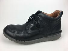 Clarks Unstructured Casual Men's Shoes Grain Leather Size US 9M