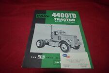 Oliver White 4-150 Tractor Dealer/'s Brochure TBPA ver2