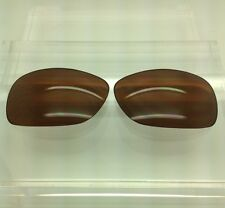 Oakley Overtime Custom Made Replacement Lenses Bronze / Brown Polarized NEW!!!