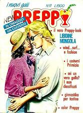"""""""NEW PREPPY"""" N.11 EDIFUMETTO ANNI 80 FUMETTO DEDICATO ALLE SFITINZIE (PANINARO)"""