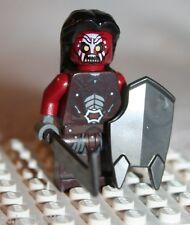 Lego URUK-HAI SWORD SHIELD MINIFIGURE from Lord of Rings Uruk-hai Army (9471)