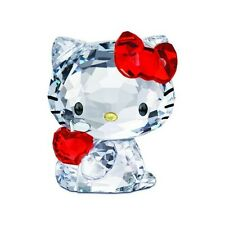 HELLO KITTY RED APPLE SWAROVSKI CRYSTAL SRP $220 NEW IN BOX/GIFT BAG FREE S/H