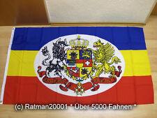 Bandiere BANDIERA Meclemburgo Strelitz NUOVO - 90 x 150 cm