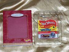 "HOT WHEELS: 1968 Deora 1.5"" Replica 2000 Hallmark Keepsake Ornament, New In Box!"