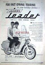 1959 Ariel 'LEADER 250cc Twin' Motor Cycle ADVERT (487f) - Original Print Ad