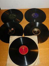 LOT DISQUE gramophone HARRY WARREN tobis RIO smyccovy VACKAR schonwald E.LORAND