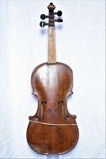 "Sehr alte Geige bez. ""Ignatij Ber ViolinMacher / in Bernau 1782(?)"""