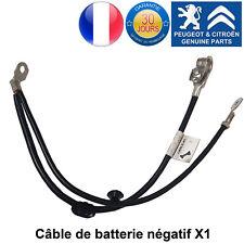 Peugeot 1007 207 Câble de Batterie Négatif Neuf 9662852980 pièce d'origine