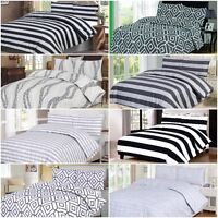 Big List Of All Sizes 100% Egyptian Cotton Printed Duvet Cover Sets Bedding Sets