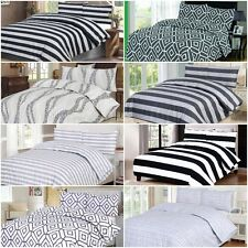 Big List Of All Sizes 100% Egyptian Cotton Top Percale Printed Duvet Cover Sets.