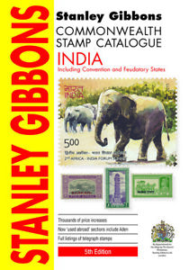 India & Indian States Stamp Catalogue 5th Edition- 312 pages - Stanley Gibbons