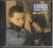 CD 8 TITRES EROS RAMAZZOTTI MUSICA E (Musica È) DE 1995 NEUF SCELLE