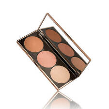 Nude by Nature Highlight Palette Make-up Cosmetic Travel Beautiful Compact