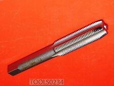 M10 X 1.0 Metric 10MM Carbon Steel Plug Tap 4FL USA Made RH Irwin 1738