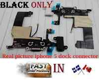 iphone 5 headphone Audio Jack dock connector charger flex cable charging power