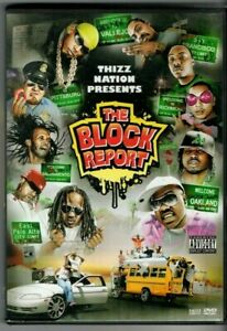 "THIZZ NATION PRESENTS - ""THE BLOCK REPORT""  ('07 DVD) CELLSKI , DUBEE , MAC DRE"