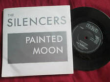 The Silencers ‎– Painted Moon  RCA ‎Records– HUSH 1 UK  Vinyl 7 inch  single 45